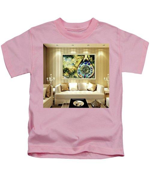 One Drop In The Rain Kids T-Shirt