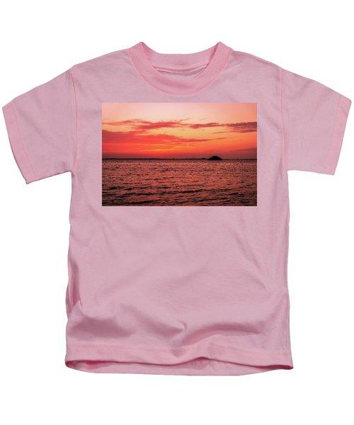 Cool Autumn Evening Kids T-Shirt