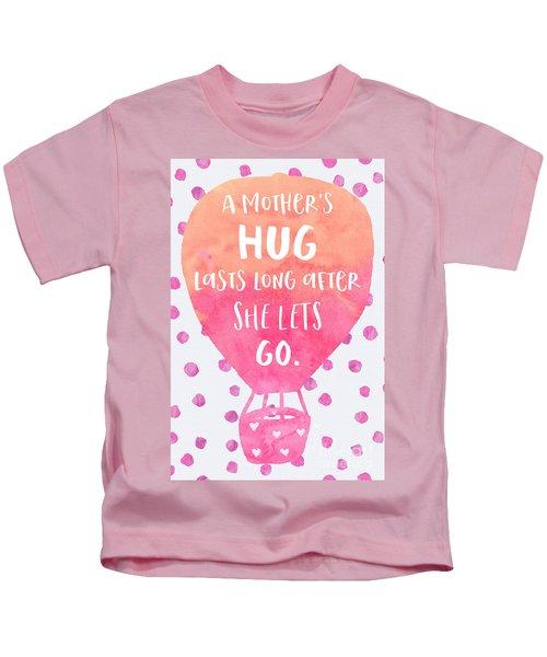 A Mother's Hug Kids T-Shirt