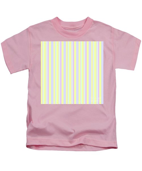 Abstract Fresh Color Lines Background - Dde595 Kids T-Shirt