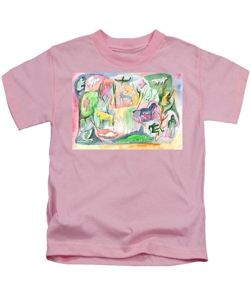 Abstraction Living World Kids T-Shirt