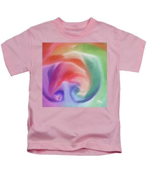 All The Colors Of - Pastel Abstract I.jpg Kids T-Shirt