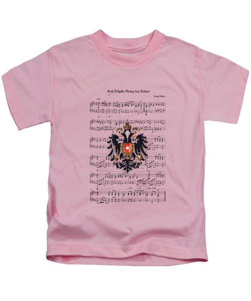 Austrian Emperor's Hymn  Kids T-Shirt