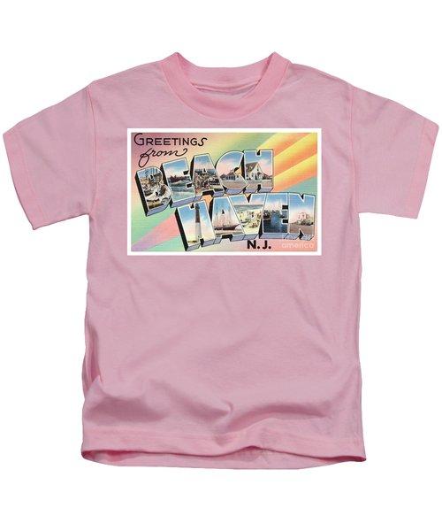 Beach Haven Greetings Kids T-Shirt