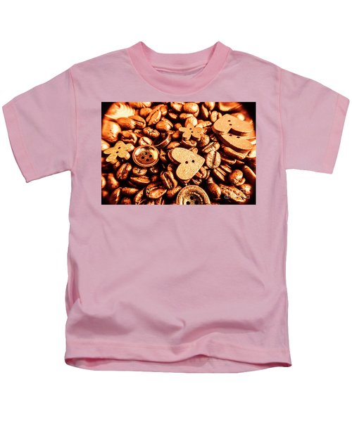 Beans And Buttons Kids T-Shirt