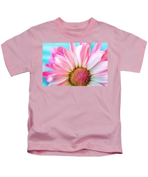 Beautiful Pink Flower Kids T-Shirt
