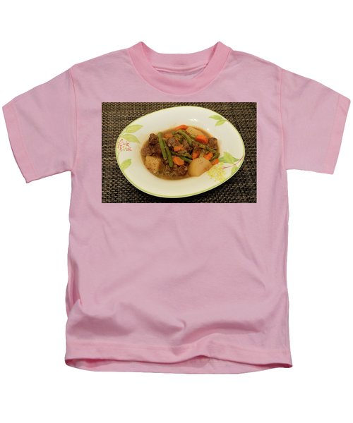 Beef Stew Serving 1 Kids T-Shirt