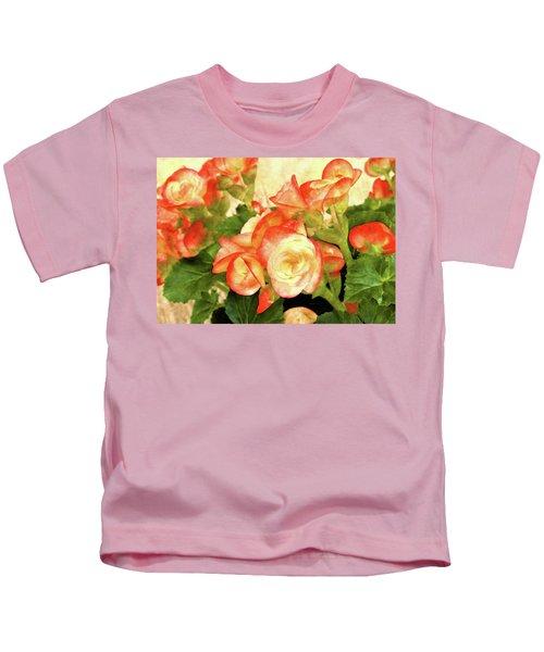 Begonia Beguiled Kids T-Shirt