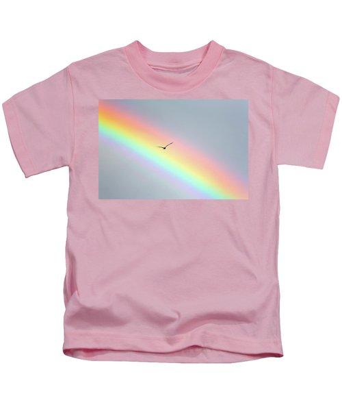 Bird Bow Kids T-Shirt