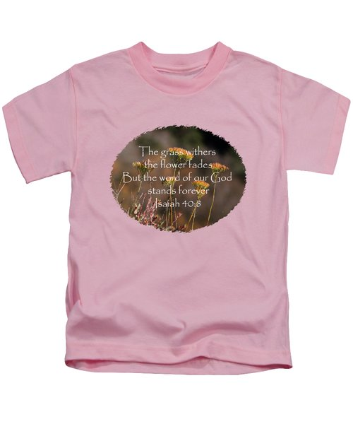 Blooming On The Edge - Verse Kids T-Shirt