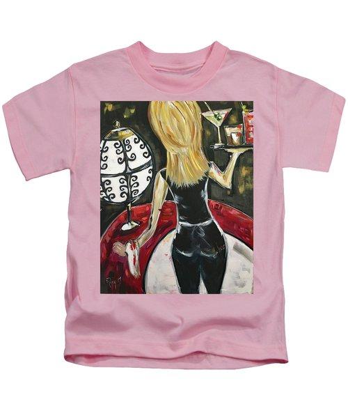 Bottoms Up Featuring Roxy Rich Kids T-Shirt