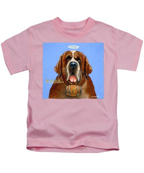 B.y.o.b... Kids T-Shirt