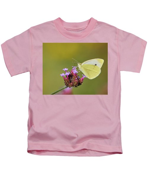 Cabbage White Butterfly Kids T-Shirt