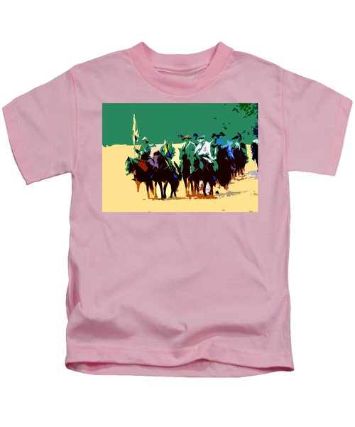 Cavalry On The Move Kids T-Shirt