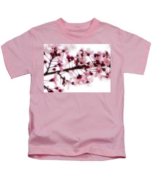 Cherry Triptych Center Panel Kids T-Shirt