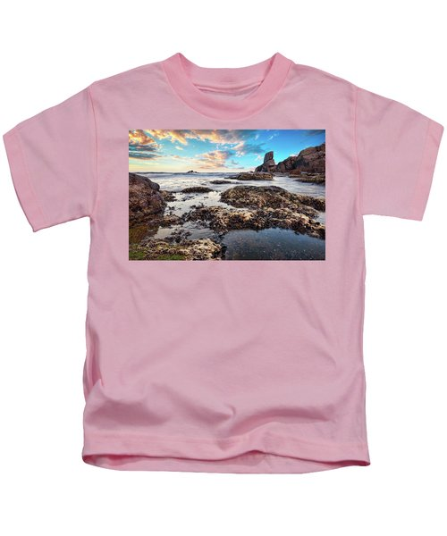 Coast At Sozopol, Bulgaria Kids T-Shirt