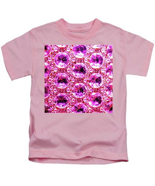 Cut Glass Beads 6 Kids T-Shirt