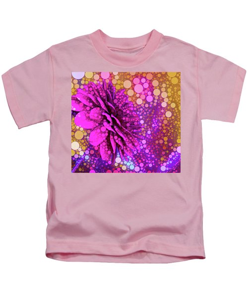 Dahlia Dots Kids T-Shirt