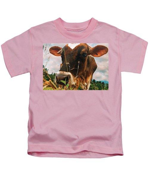 Dairy Cow Kids T-Shirt