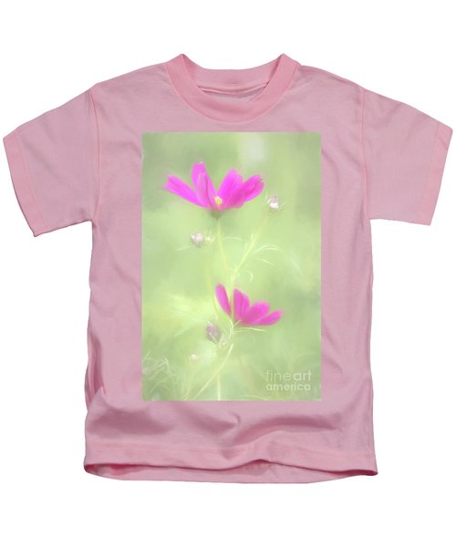 Delicate Painted Cosmos Kids T-Shirt