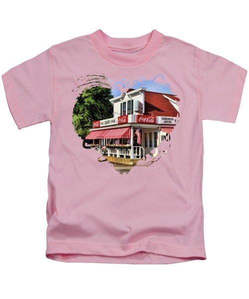 Door County Wilson's Ice Cream Store Kids T-Shirt