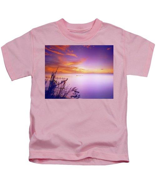 Dusk At Waterloo, Trinidad Kids T-Shirt
