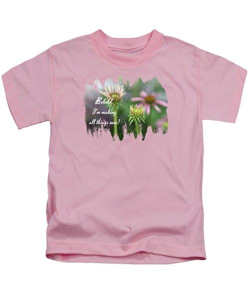 Echinacea Garden - Verse Kids T-Shirt