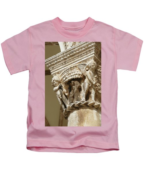 Figures On Capitals Of The Rector's Palace Kids T-Shirt