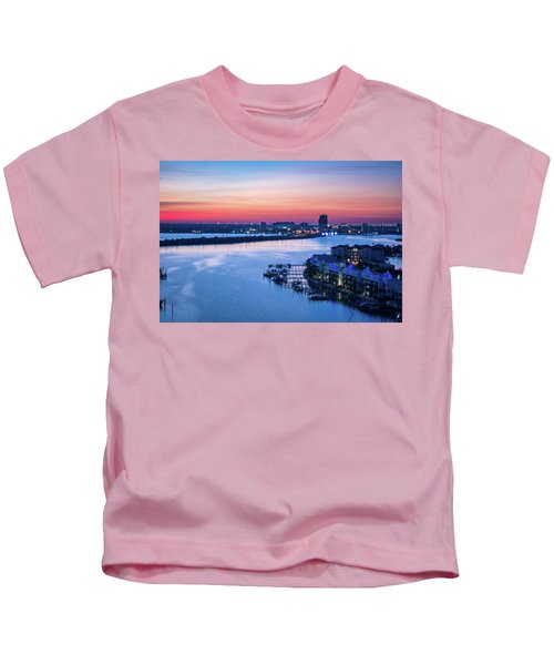 Firstlight Over Clearwater Kids T-Shirt
