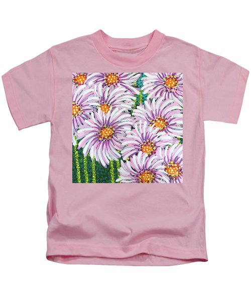 Floral Whimsy 1 Kids T-Shirt