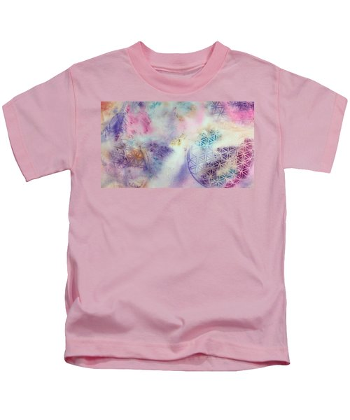 Flower Of Life Kids T-Shirt