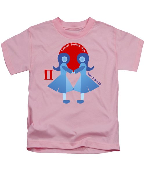 Gemini - Twins Kids T-Shirt