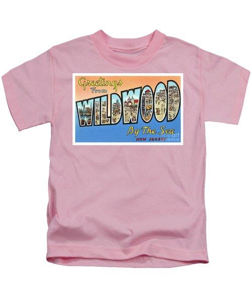 Wildwood Greetings - Version 4 Kids T-Shirt