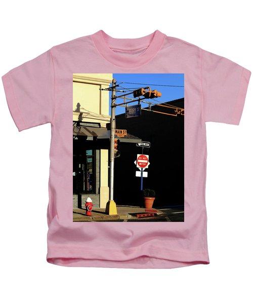 Hackensack, Nj - Berry And Main Streets 2018 Kids T-Shirt