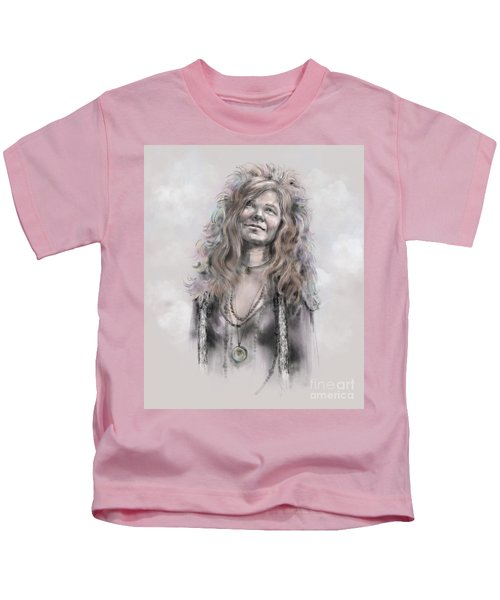 Janis Joplin Kids T-Shirt