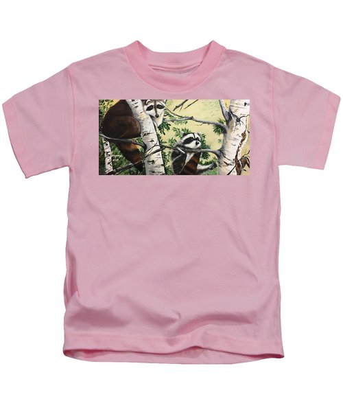 Just Hanging In There  Kids T-Shirt