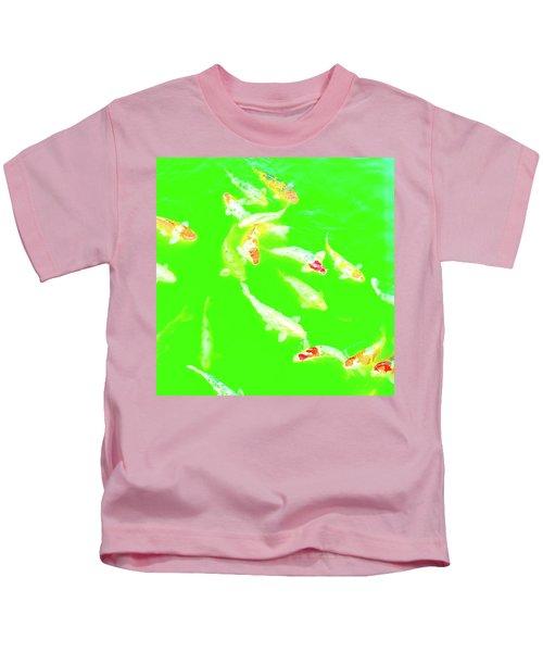 Koicarpscape 4 Kids T-Shirt
