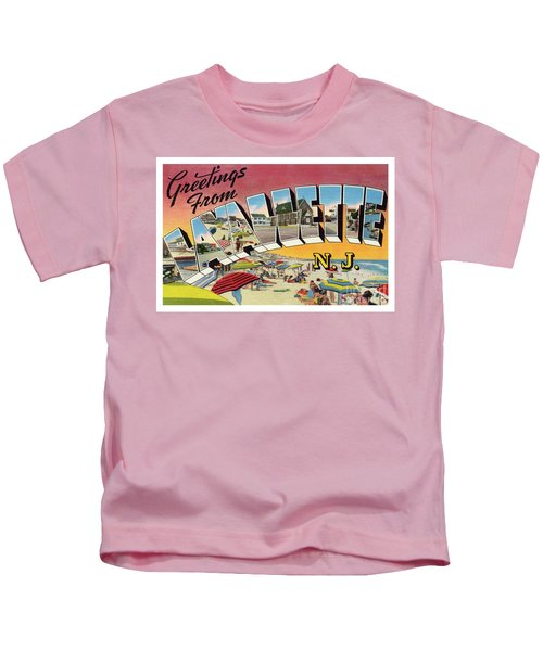 Lavallette Greetings Kids T-Shirt