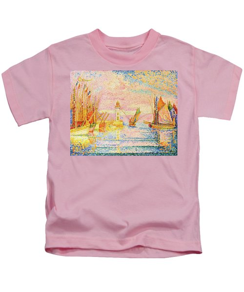 Lighthouse At Groix - Digital Remastered Edition Kids T-Shirt