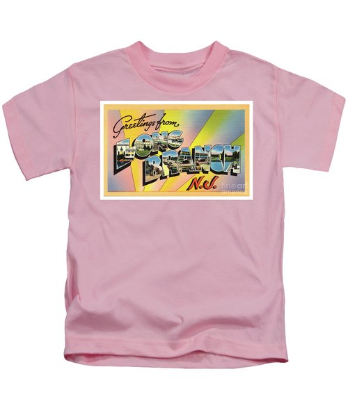 Long Branch Greetings Kids T-Shirt