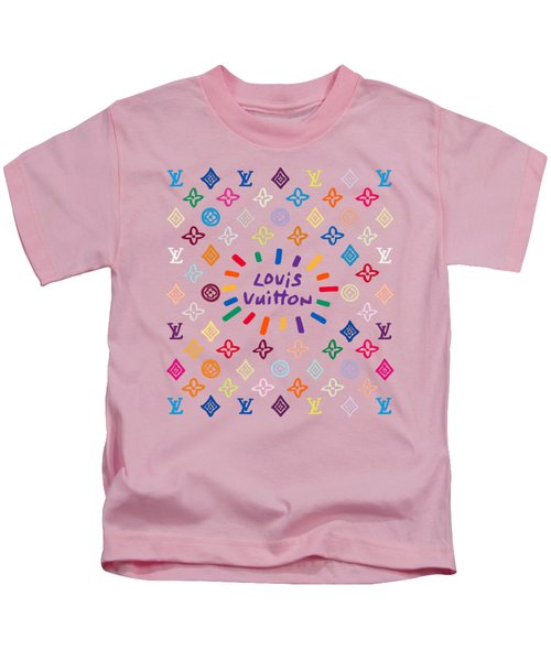 Louis Vuitton Monogram-9 Kids T-Shirt
