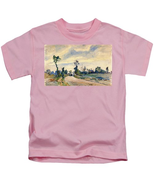 Louveciennes, Road Of Saint-germain - Digital Remastered Edition Kids T-Shirt
