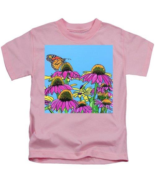 Magnificant Monarch Kids T-Shirt