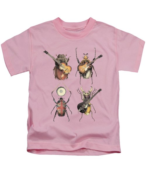 Meet The Beetles Kids T-Shirt