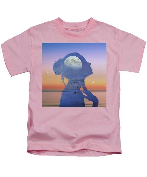 Melting Night Kids T-Shirt