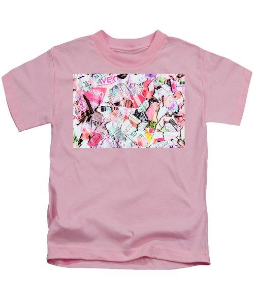 Mixed Media Messages Kids T-Shirt