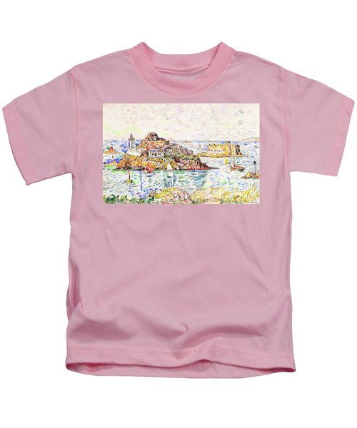 Morlaix, Entrance Of The River - Digital Remastered Edition Kids T-Shirt