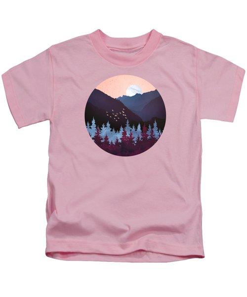 Mulberry Dusk Kids T-Shirt