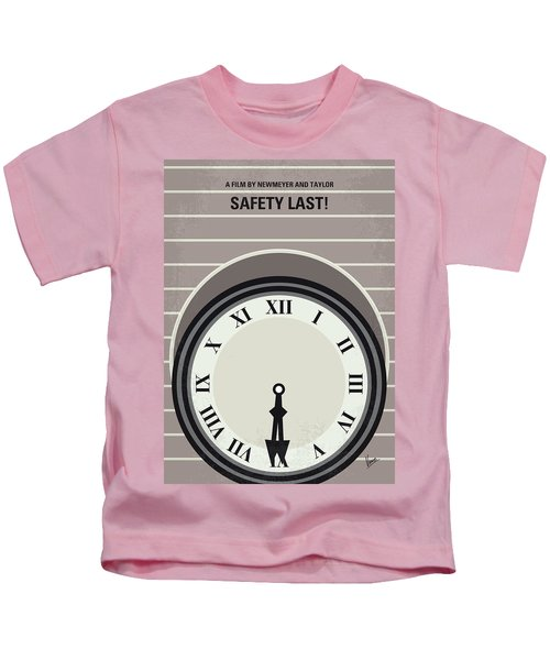 No1024 My Safety Last Minimal Movie Poster Kids T-Shirt
