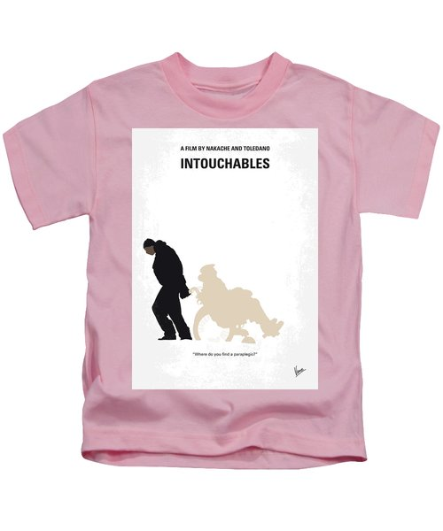 No994 My Intouchables Minimal Movie Poster Kids T-Shirt